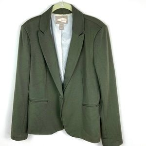 Forever 21 Forest Green Blazer Women's Size Large